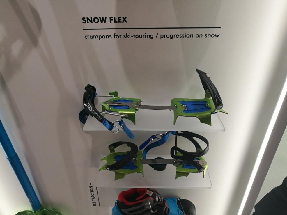 Climbing Technology a lehoučké mačky SNOW FLEX