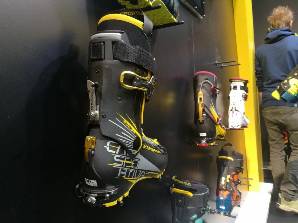 Skialpové boty LaSportiva s upravenou patou pro vázání SkiTrab
