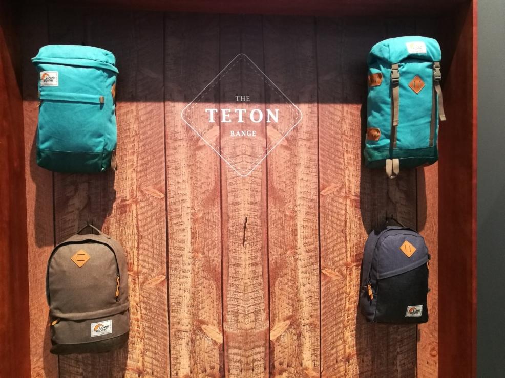 LoweAlpine batohy a retro řada TETON