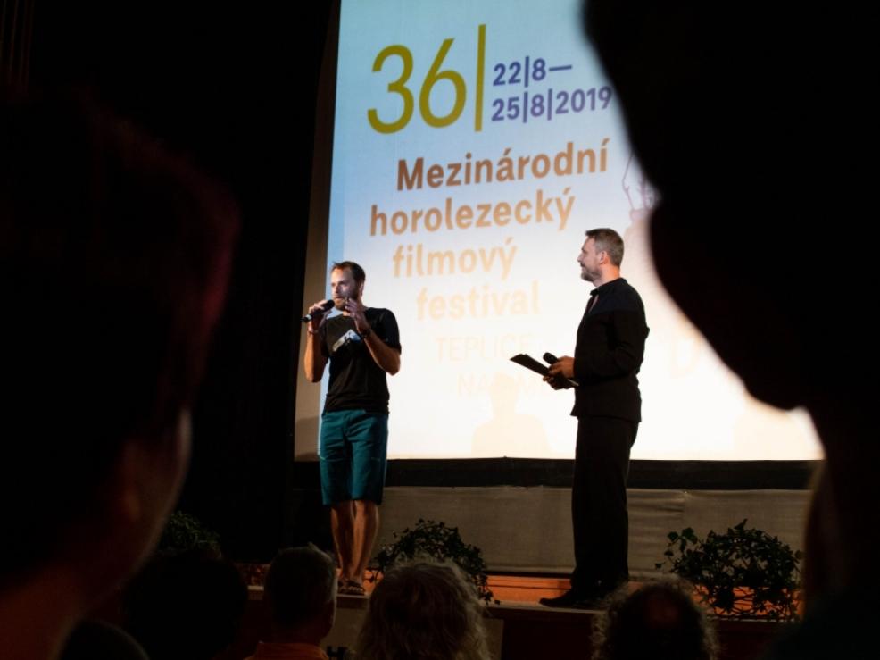 Zahájení 36.Mezinárodního horolezeckého filmového festivalu