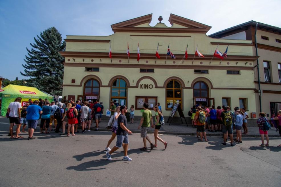 Centrum filmového festivalu - kino.